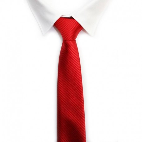 Corbata color rojo